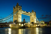 Tower bridge, londen — Stockfoto