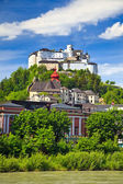 Veiw on Hohensalzburg Fortress, Salzburg — Stock Photo