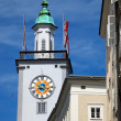 Tower of Town hall in Salzburg — Stock Photo