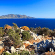 Greek islands at sunny day — Foto de Stock