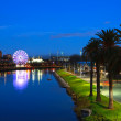 Melbourne at night — Stock Photo #6036710