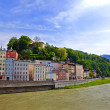 Stock Photo: River Salzach in Salzburg