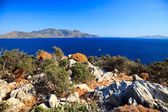 Greek islands at sunny day — Stock Photo