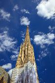 Campanário da catedral de santo estevão em viena — Foto Stock