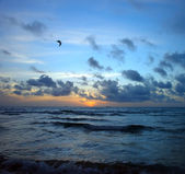 Sunrise, Atlantic ocean — Foto Stock