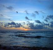 Sunrise, Atlantic ocean — Stock Photo