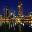 Melbourne at night — Stock Photo #6045830
