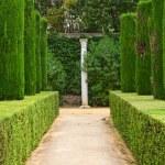 Garden of the Poets, Alcazar Palace — Stock Photo #6045837