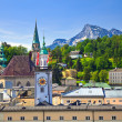 Stock Photo: Tower of Town hall in Salzburg