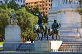Miguel de Cervantes monument — Stock Photo