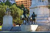 Miguel de Cervantes monument — Stock Photo