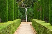 Garden of the Poets, Alcazar Palace — Stock Photo