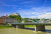 Veiw on Hohensalzburg Fortress, Salzburg — Stock Photo