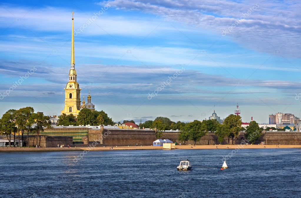 The Peter and Paul Fortress, St.Petersburg, Russia — Stock Photo #6052594