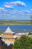 Nizhny Novgorod kremlin — Foto de Stock