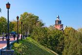 Nizhny Novgorod kremlin — Stockfoto