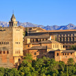 Alhambra at sunset, Granada, Spain — Stock Photo #6104227