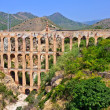 Old aqueduct in Nerja - Stock Photo