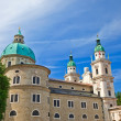 Cathedral in Salzburg - Stock Photo