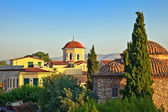 Church in Plaka area, Athens — Stock Photo