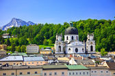 View on Salzburg, Austria — Zdjęcie stockowe
