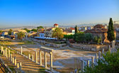 Ruins in Plaka area, Athens — Stock fotografie