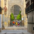 Entrance to La Giralda, Sevilla, Spain - Stock Photo