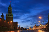 Red Square at night, Moscow — Stock Photo