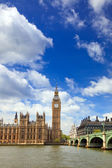 Big Ben and Houses of Parliament at night, London — Stock Photo