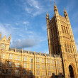 Stock Photo: VictoriTower, Houses of Parliament, London