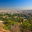 View on Athens from Acropolis — Stock Photo
