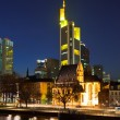 Frankfurt am Main at night — Stock Photo #6155087