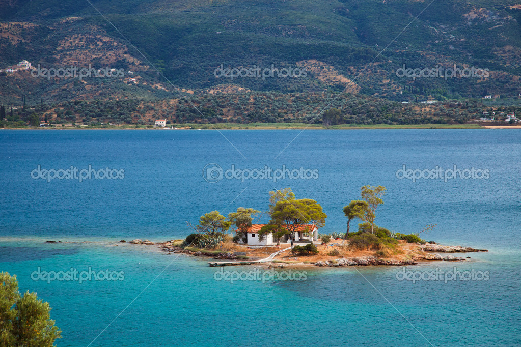 Апельсиновые плантации в остров Эгейские острова