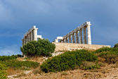 Ruins of Poseidon temple — Stock Photo
