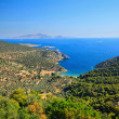 Greek islands in Aegean sea — Stock Photo