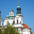 Church of St. Nicholas in Prague - Stock Photo