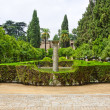Garden of the Poets, Alcazar Palace — Stock Photo