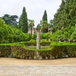 Garden of the Poets, Alcazar Palace - Stock Photo