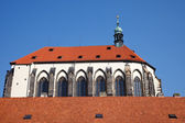 Church of Our Lady in Prague — Stock Photo