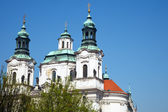 Church of St. Nicholas in Prague — Stock Photo