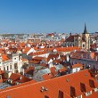 Red roofs of Old Town, Prague — Stock Photo #6200000