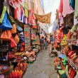 Sreet market in Granada, Spain - Stock Photo