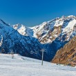 Ski resort in French Alps — Stock Photo #6200321