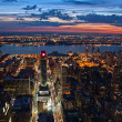 New York after sunset - Stock Photo
