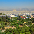 Athens from Acropolis — Stock Photo