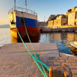 Old ship in the port of Hydra - Photo