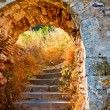 Stairways to the Palamidi fortress, Nafplio — Stock Photo