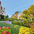 Stock Photo: Lombard Street in SFrancisco