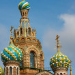Church of the Savior on Spilled Blood, St. Petersburg — Stock Photo #6207145