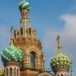 Church of the Savior on Spilled Blood, St. Petersburg — Stock Photo